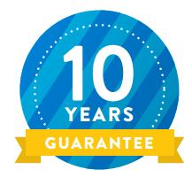 DayLite heldere koepel (zonder opstand) 10 jaar garantie